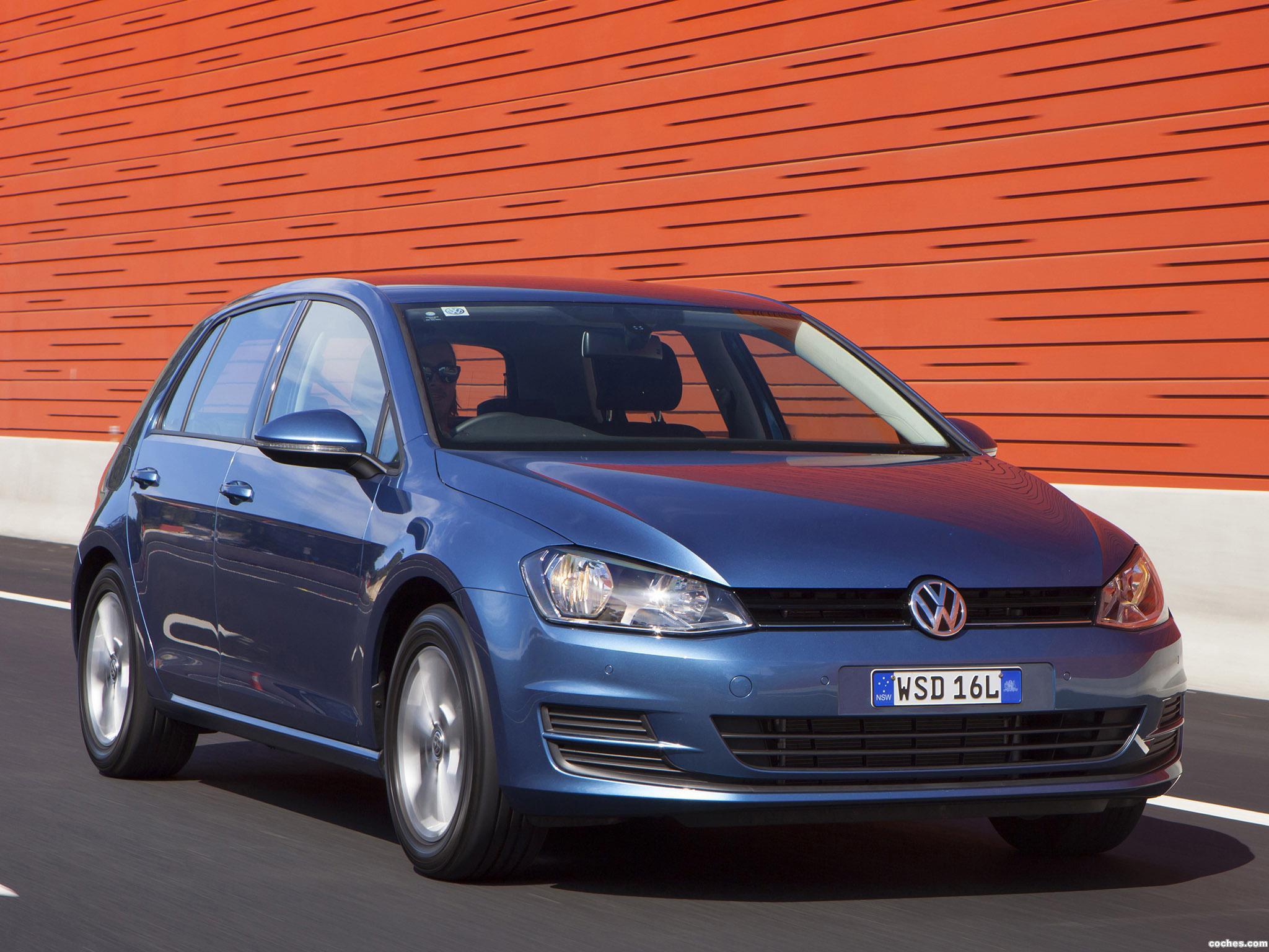 Foto 21 de Volkswagen Golf TSI BlueMotion 5 Puertas Australia 2013