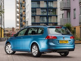 Ver foto 2 de Volkswagen Golf TSI BlueMotion Estate UK 2013