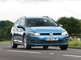 Fotos de Volkswagen Golf TSI BlueMotion Estate UK 2013