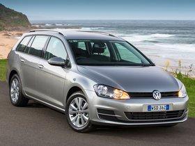 Ver foto 4 de Volkswagen Golf TSI BlueMotion Wagon Australia 2014