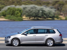 Ver foto 2 de Volkswagen Golf TSI BlueMotion Wagon Australia 2014
