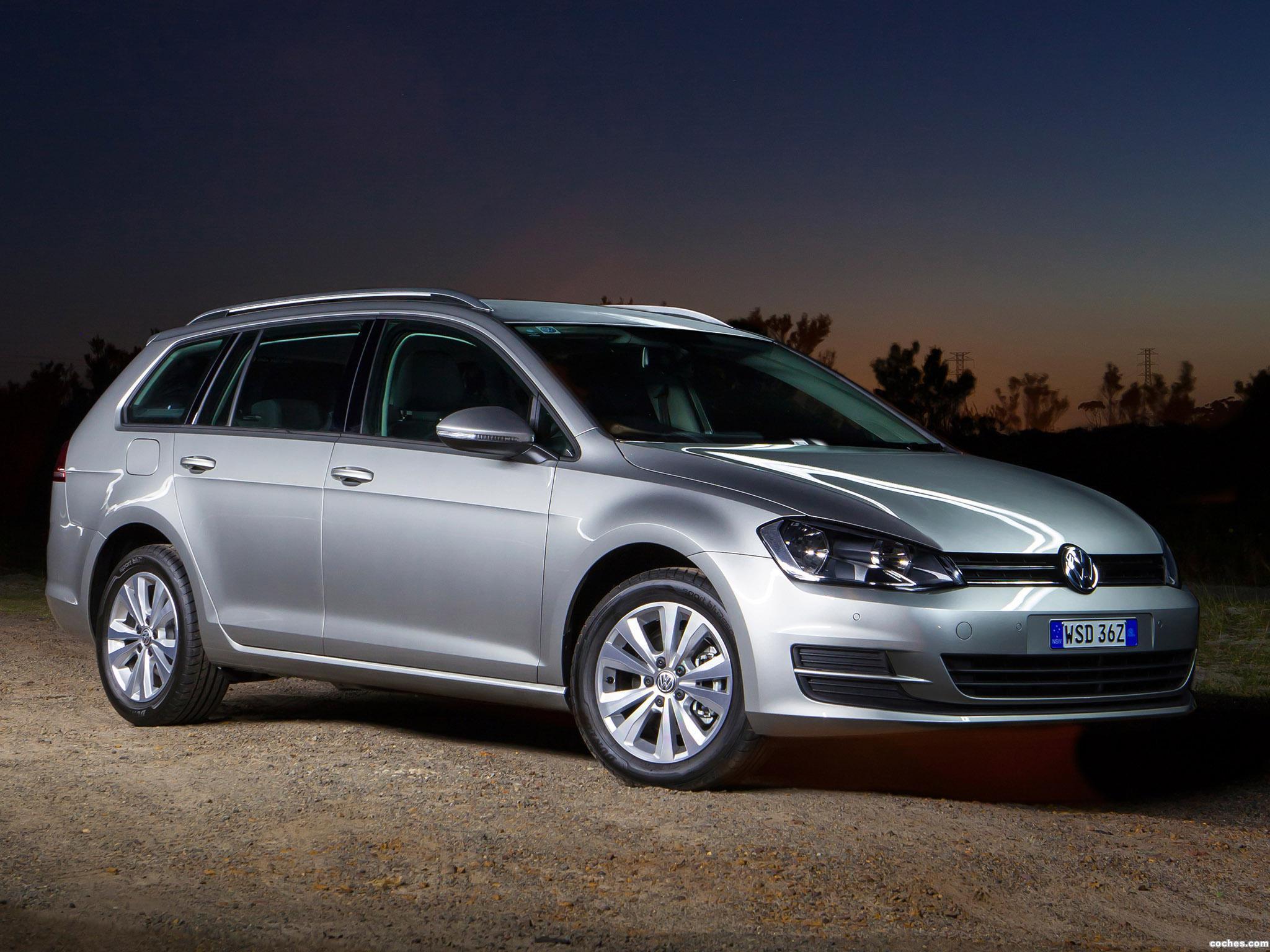 Foto 0 de Volkswagen Golf TSI BlueMotion Wagon Australia 2014