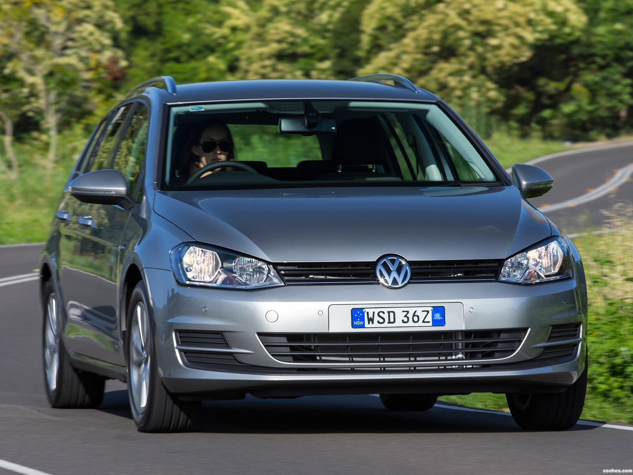 Foto 12 de Volkswagen Golf TSI BlueMotion Wagon Australia 2014