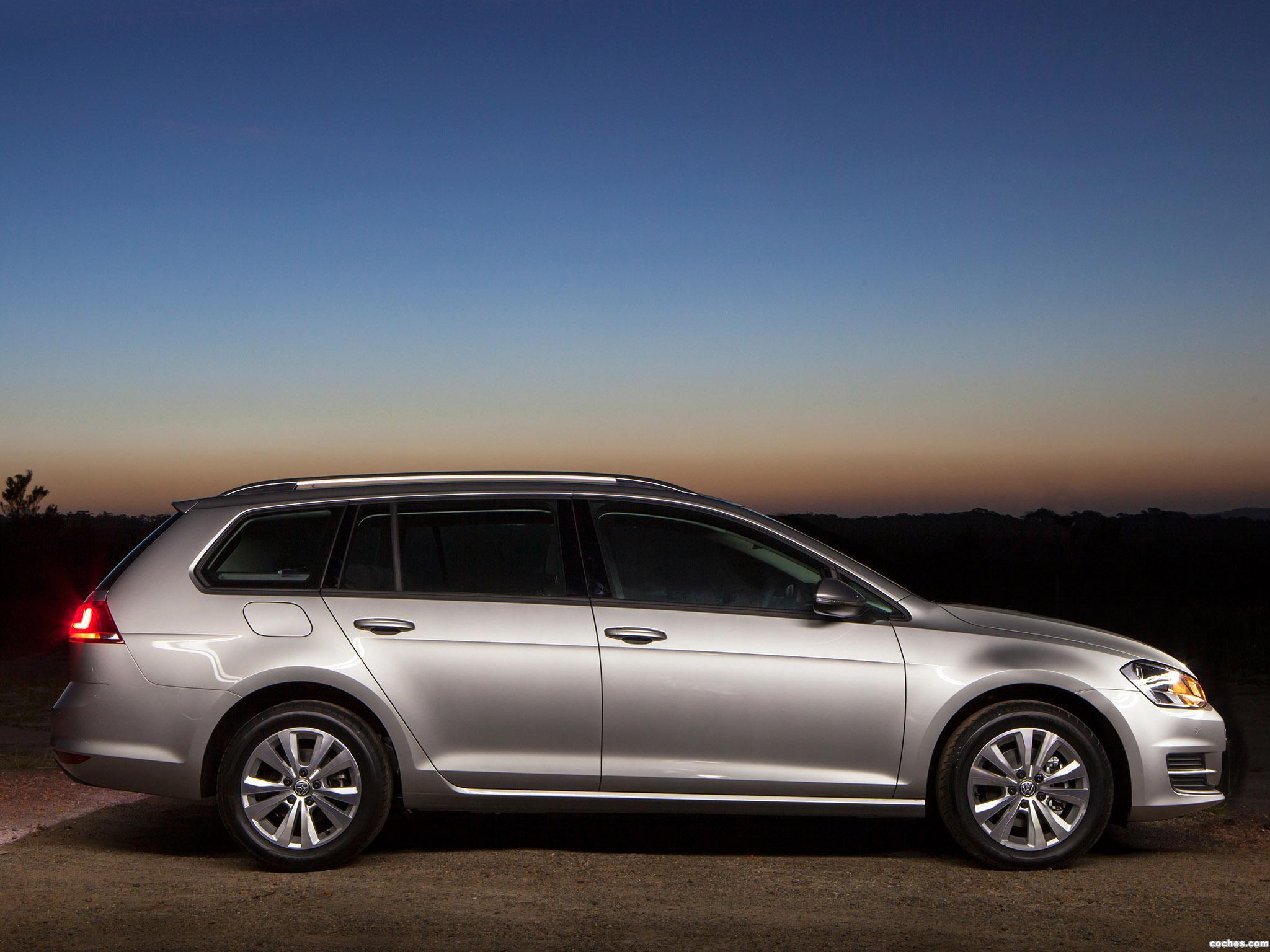 Foto 9 de Volkswagen Golf TSI BlueMotion Wagon Australia 2014