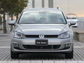 Ver foto 5 de Volkswagen Golf TSI BlueMotion Wagon Japan 2014