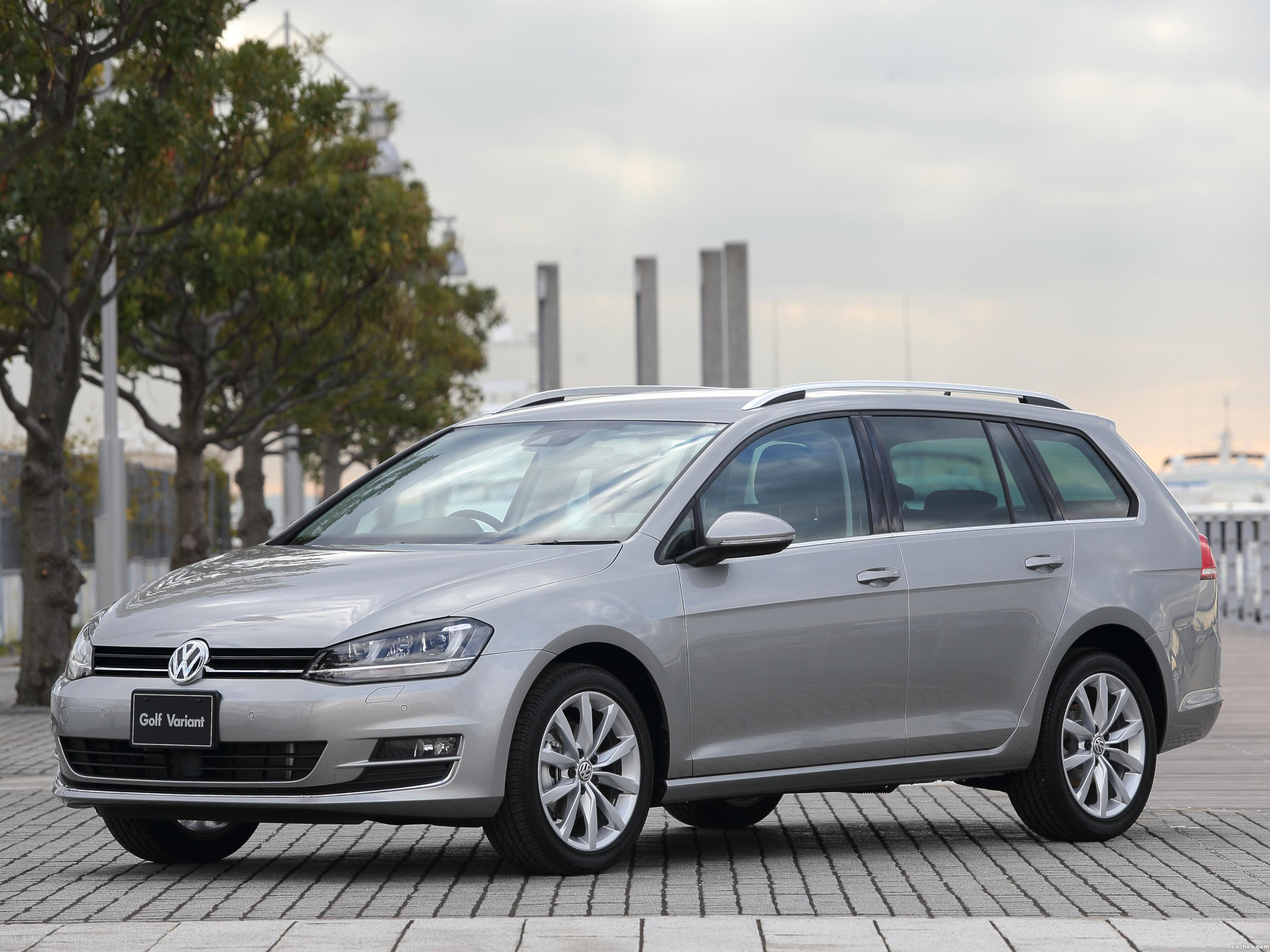 Foto 0 de Volkswagen Golf TSI BlueMotion Wagon Japan 2014