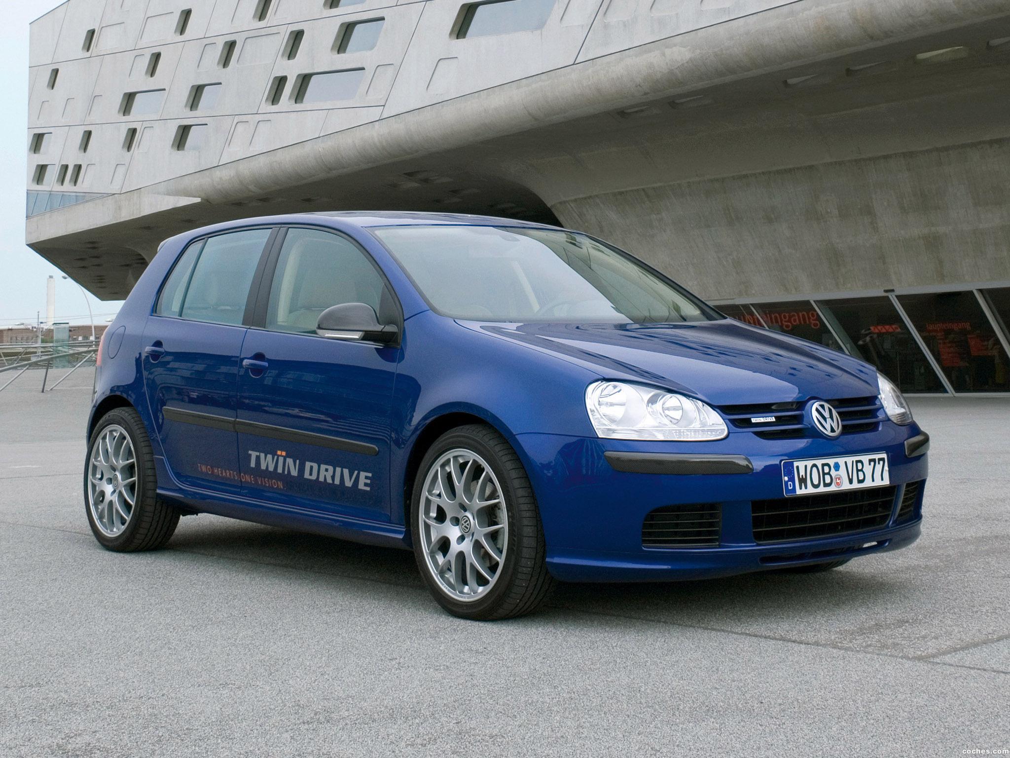 Foto 0 de Volkswagen Golf TwinDrive Concept 2008