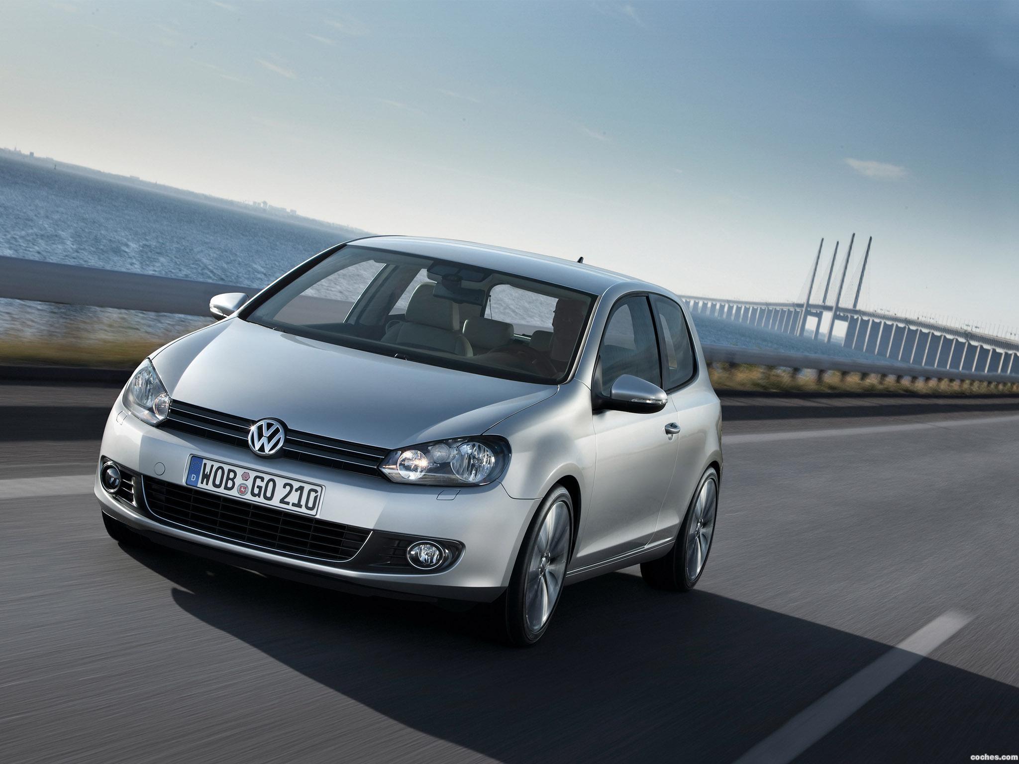 Foto 0 de Volkswagen Golf VI 3 puertas 2008