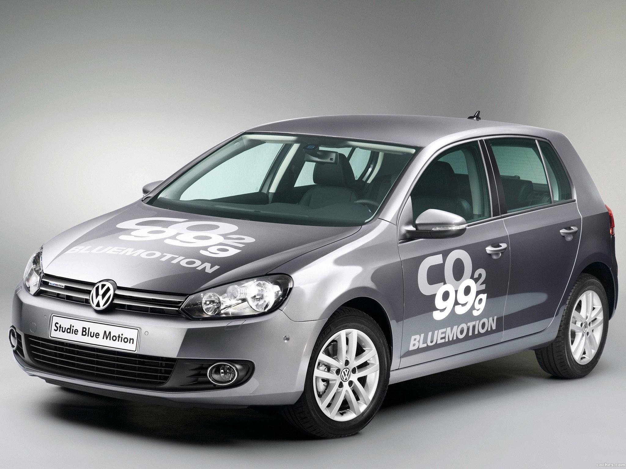 Foto 0 de Volkswagen Golf VI Blue Motion Concept 2008