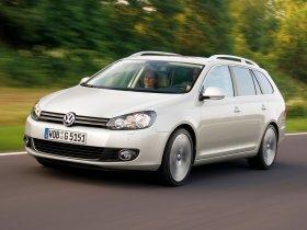 Fotos de Volkswagen Golf VI Variant 2009