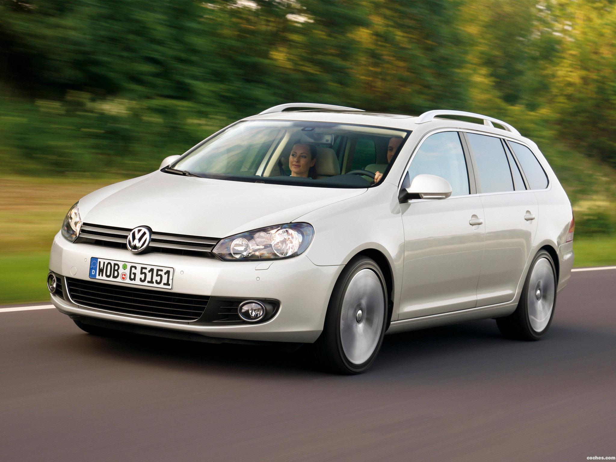 Foto 0 de Volkswagen Golf VI Variant 2009