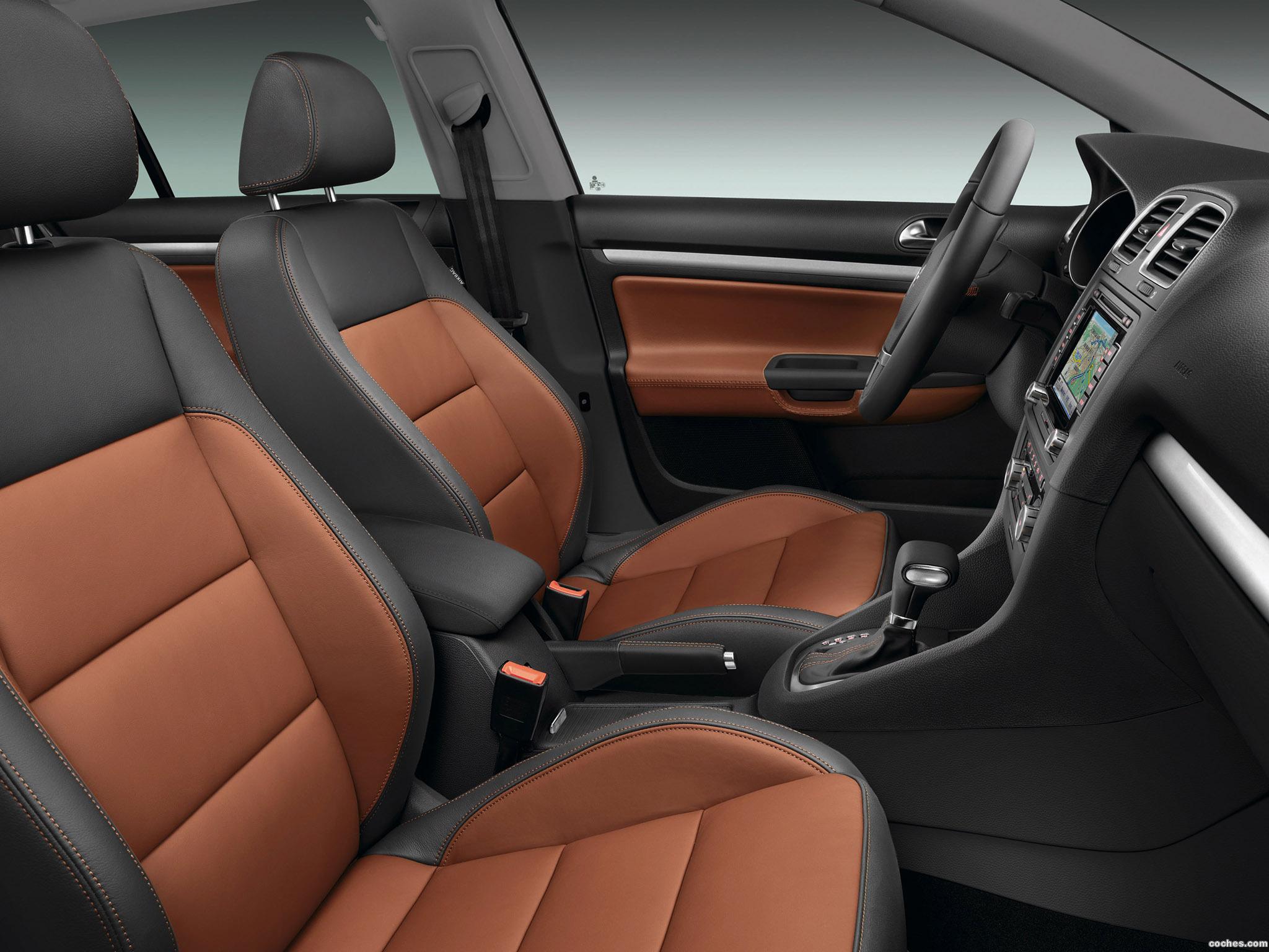 Foto 3 de Volkswagen Golf VI Variant Exclusive 2009