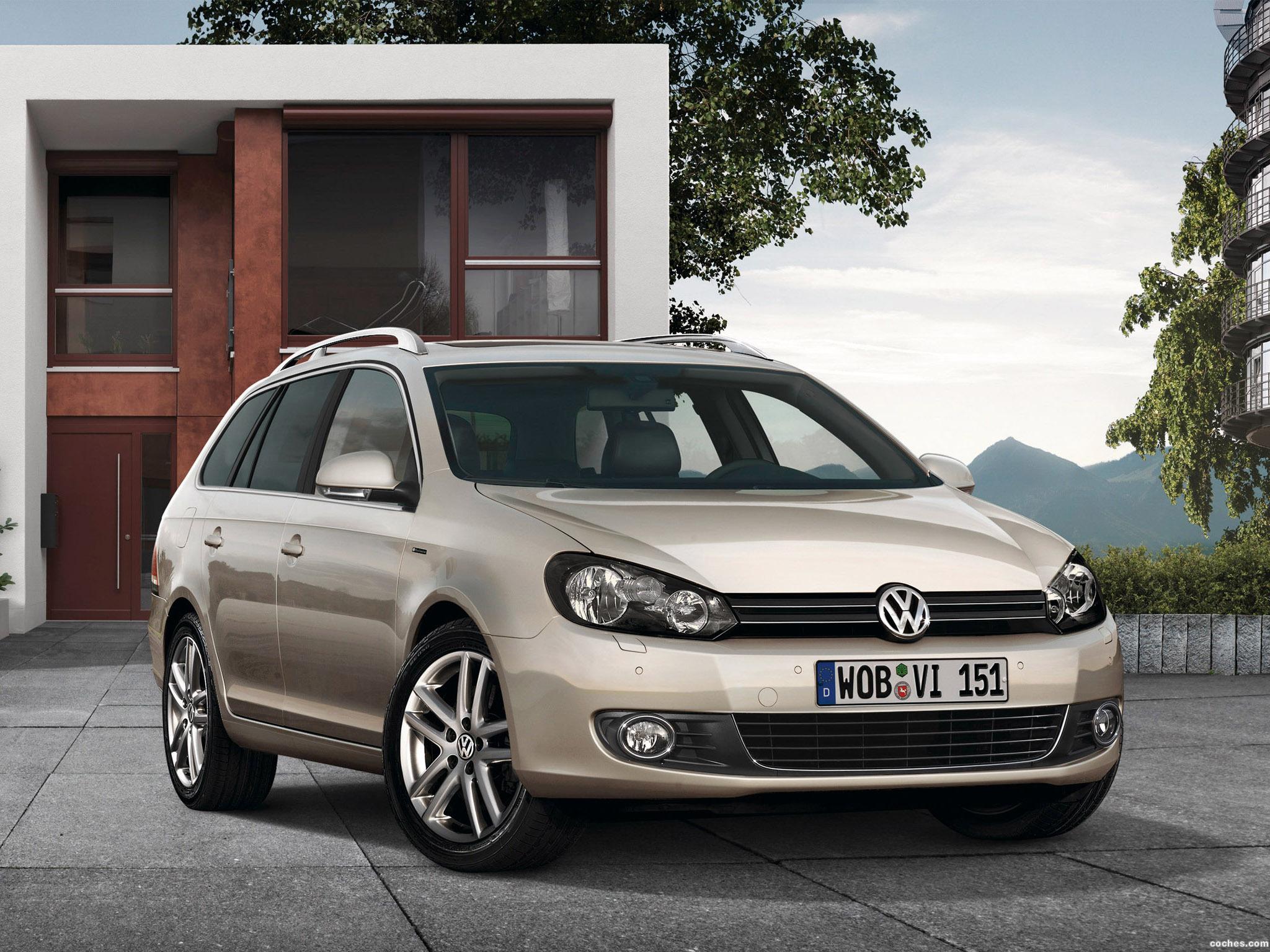 Foto 0 de Volkswagen Golf VI Variant Exclusive 2009