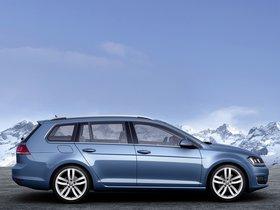 Ver foto 4 de Volkswagen Golf 7 Variant TSI BlueMotion 2013