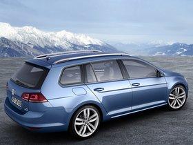 Ver foto 3 de Volkswagen Golf 7 Variant TSI BlueMotion 2013