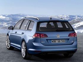 Ver foto 2 de Volkswagen Golf 7 Variant TSI BlueMotion 2013