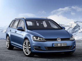 Fotos de Volkswagen Golf 7 Variant TSI BlueMotion 2013