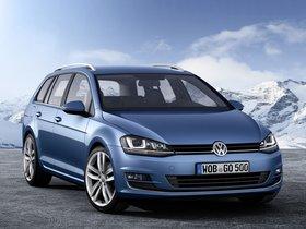 Ver foto 1 de Volkswagen Golf 7 Variant TSI BlueMotion 2013