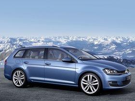 Ver foto 6 de Volkswagen Golf 7 Variant TSI BlueMotion 2013