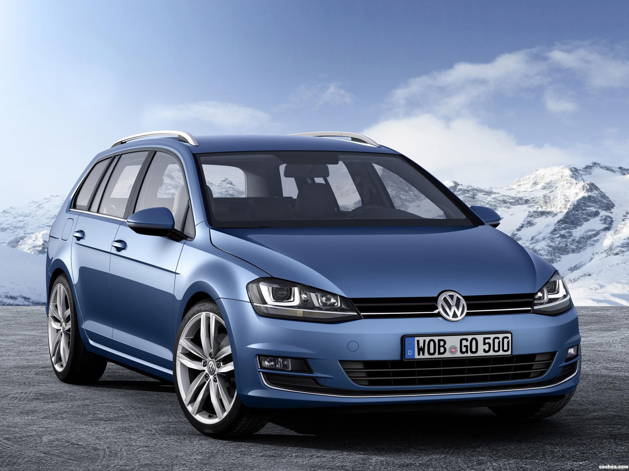 Foto 0 de Volkswagen Golf 7 Variant TSI BlueMotion 2013