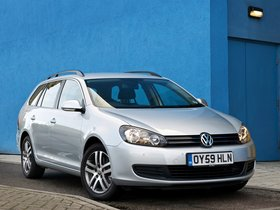 Fotos de Volkswagen Golf VI Variant UK 2009