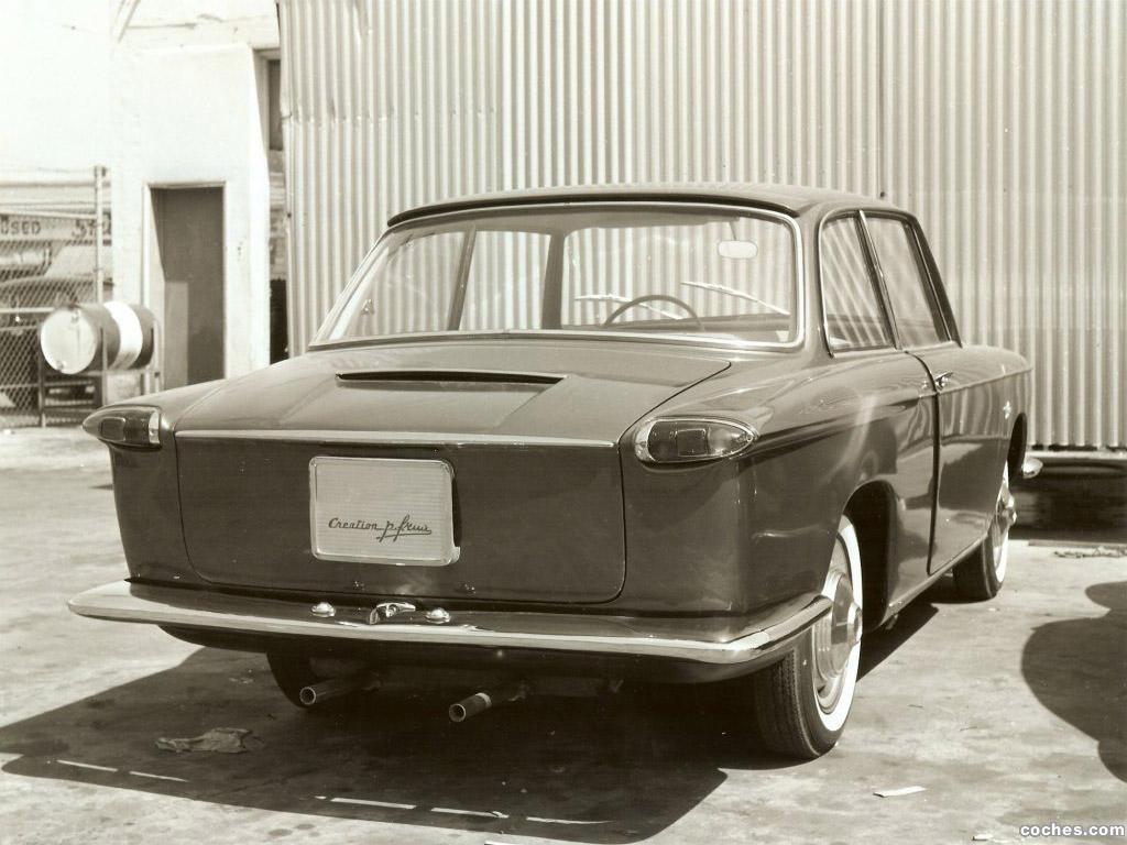 Foto 1 de Volkswagen Italsuisse Frua 1960