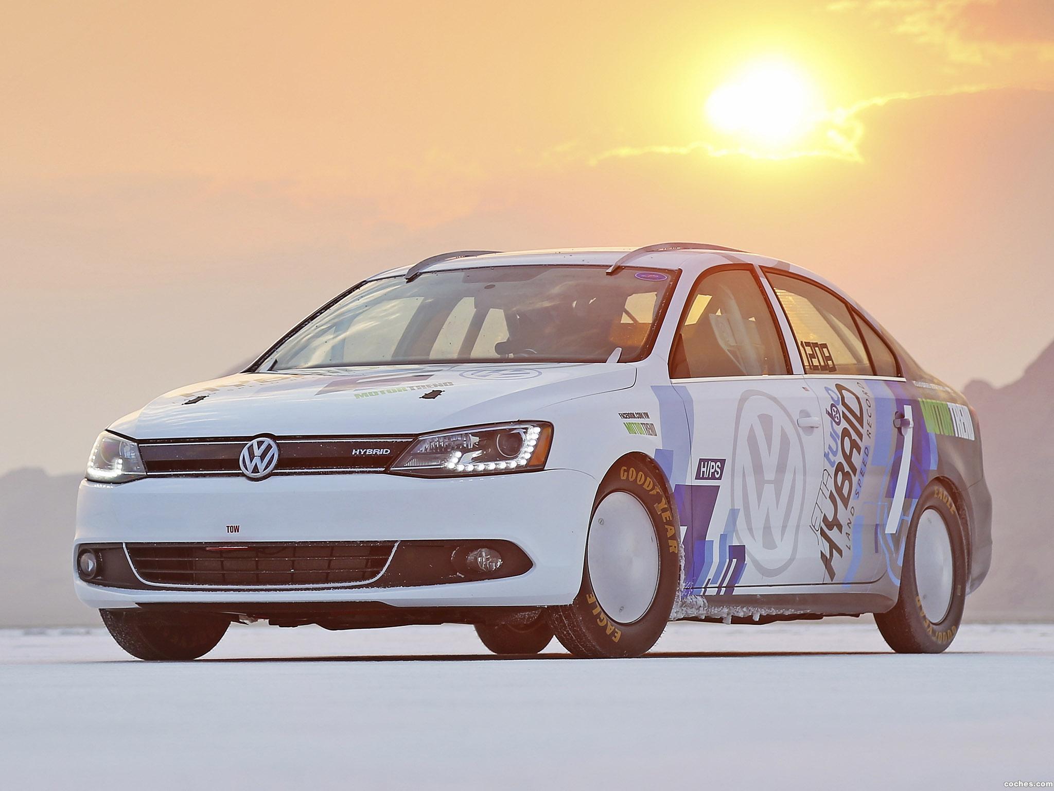 Foto 0 de Volkswagen Jetta Hybrid Bonneville Speed Record Car 2012