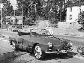 Ver foto 2 de Volkswagen Karmann-Ghia Convertible Type14 1957