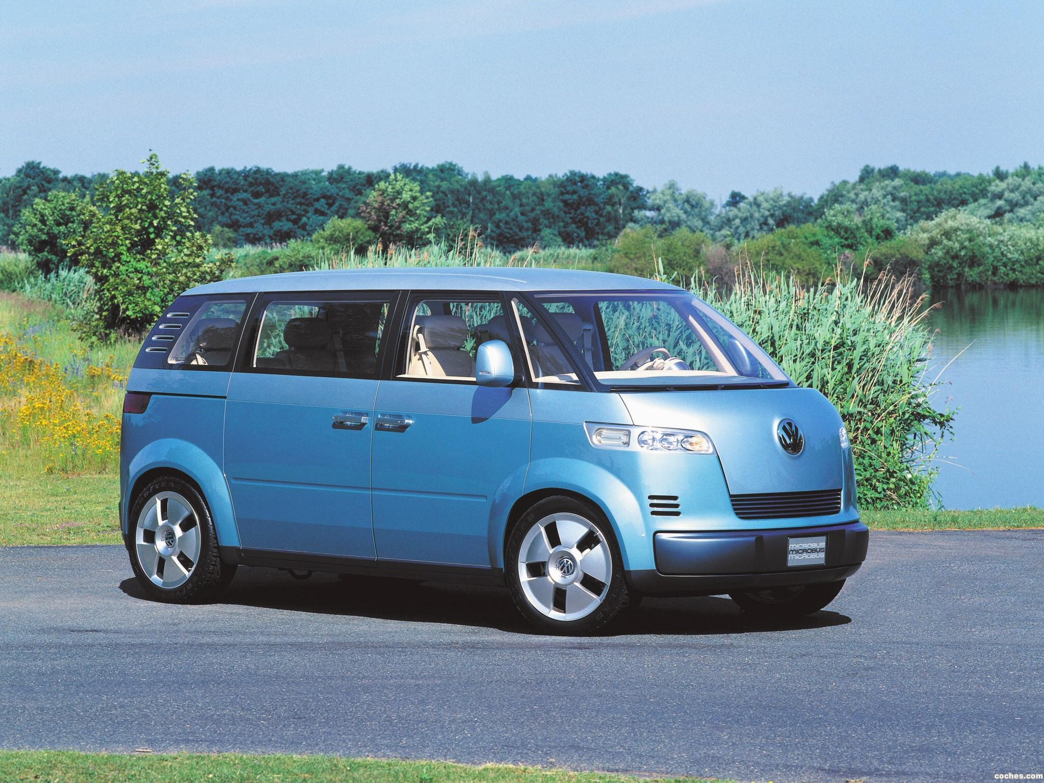 Foto 0 de Volkswagen Microbus Concept 2001
