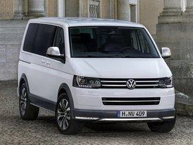 Fotos de Volkswagen Multivan Alltrack Concept T5 2014