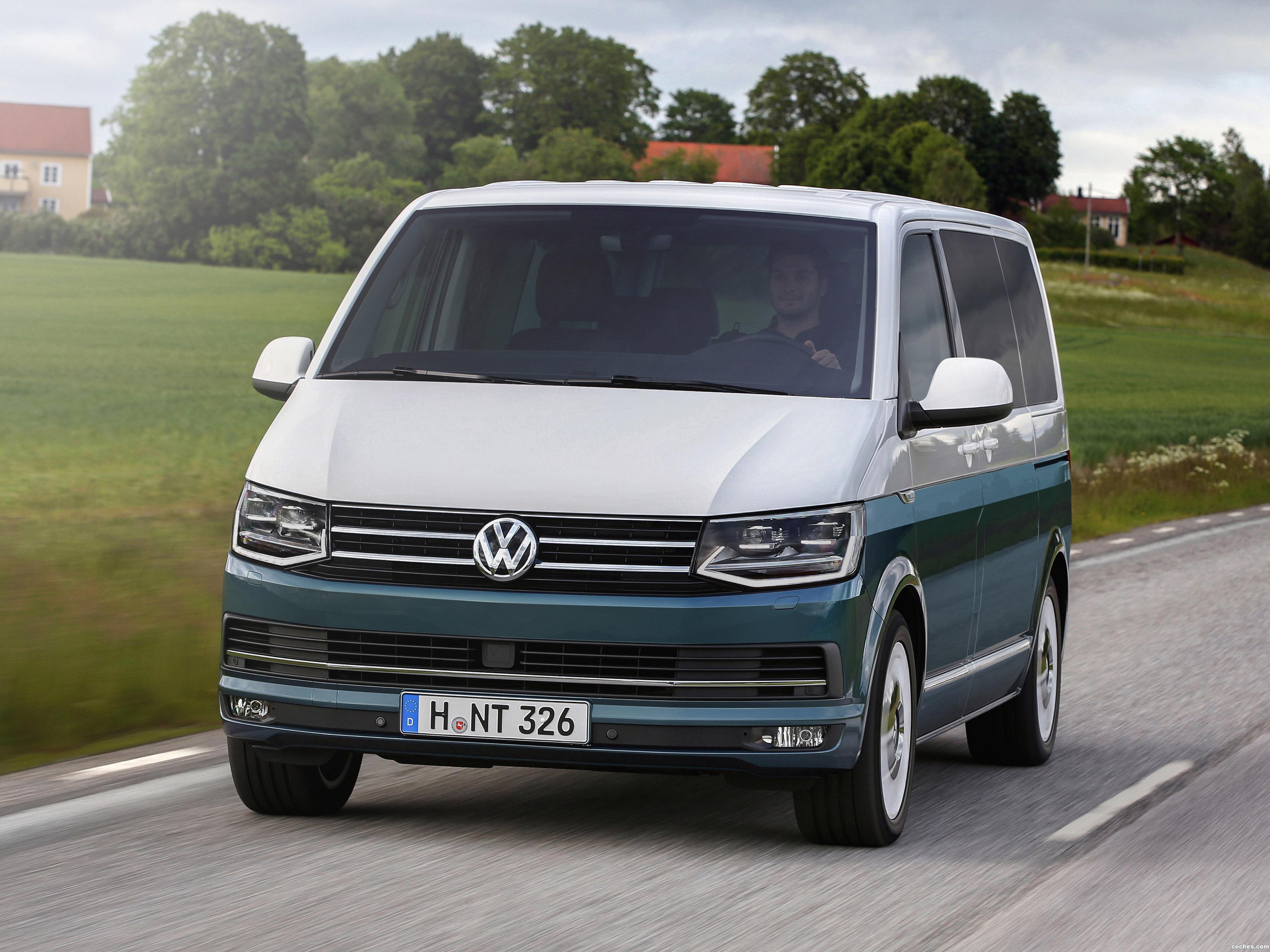 Foto 0 de Volkswagen Multivan Generation SIX T6 2015