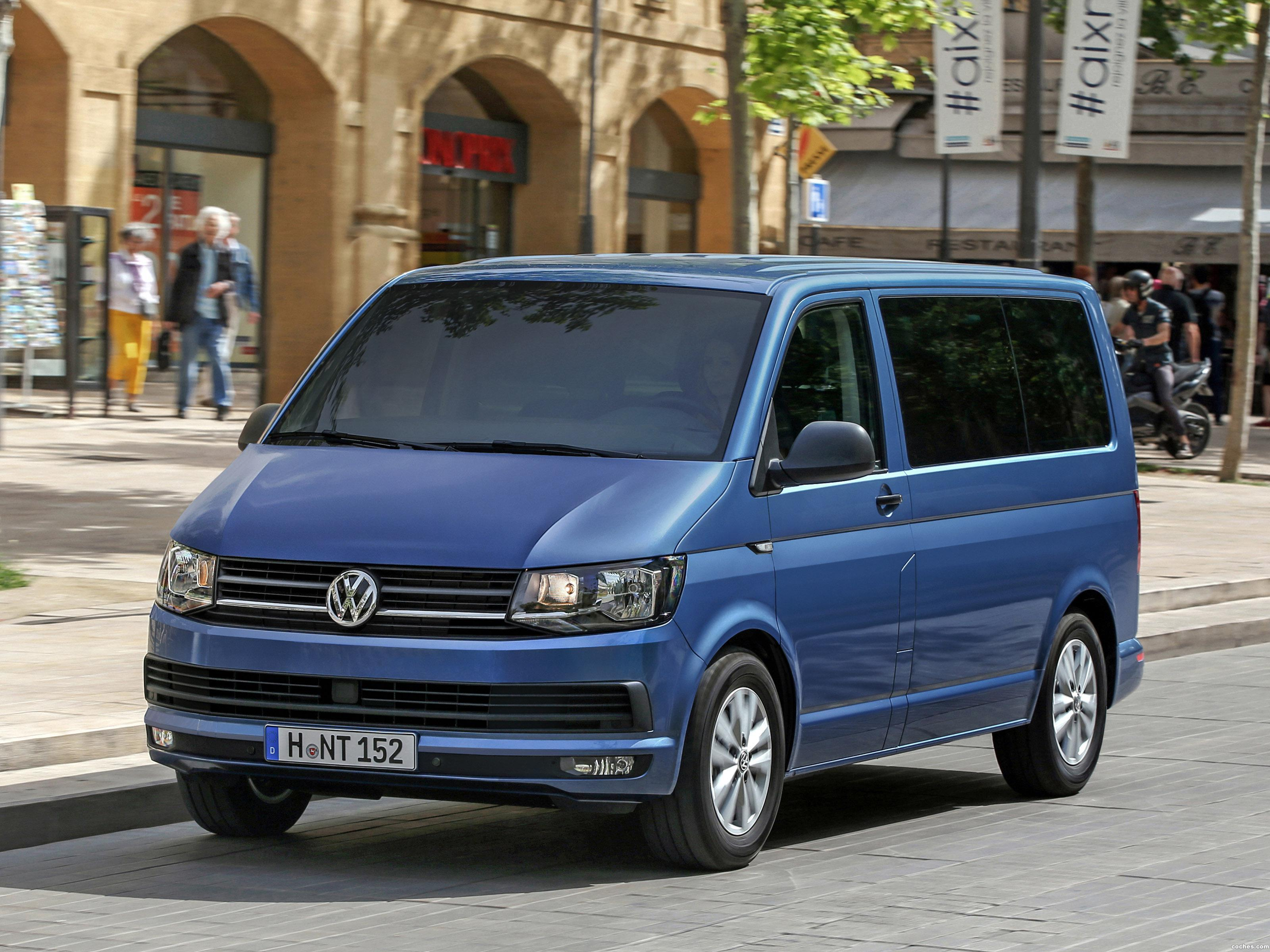 fotos de volkswagen multivan t6 2015. Black Bedroom Furniture Sets. Home Design Ideas