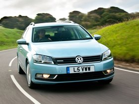 Fotos de Volkswagen Passat Variant BlueMotion UK 2010