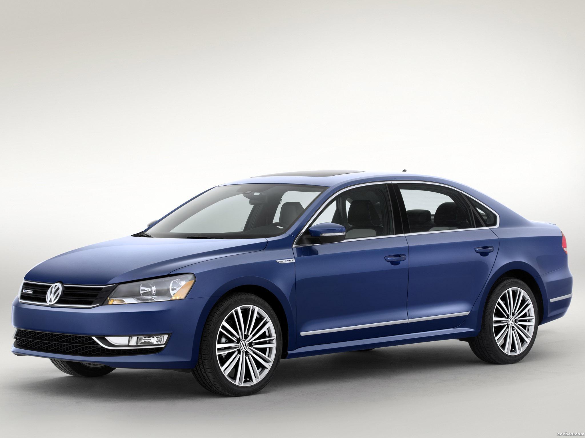 Foto 0 de Volkswagen Passat Bluemotion Concept 2014