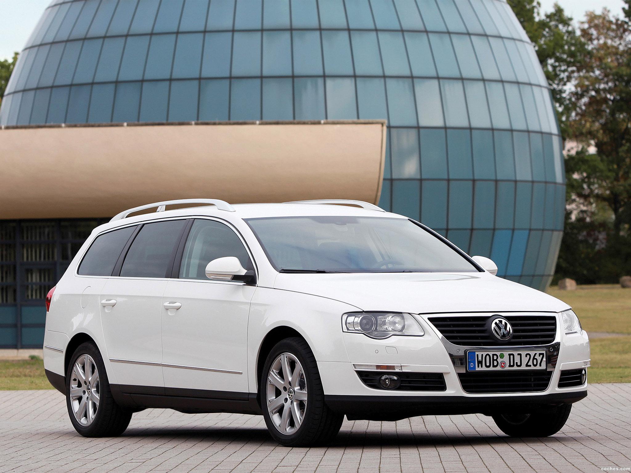 Foto 0 de Volkswagen Passat EcoFuel Variant B6 2009