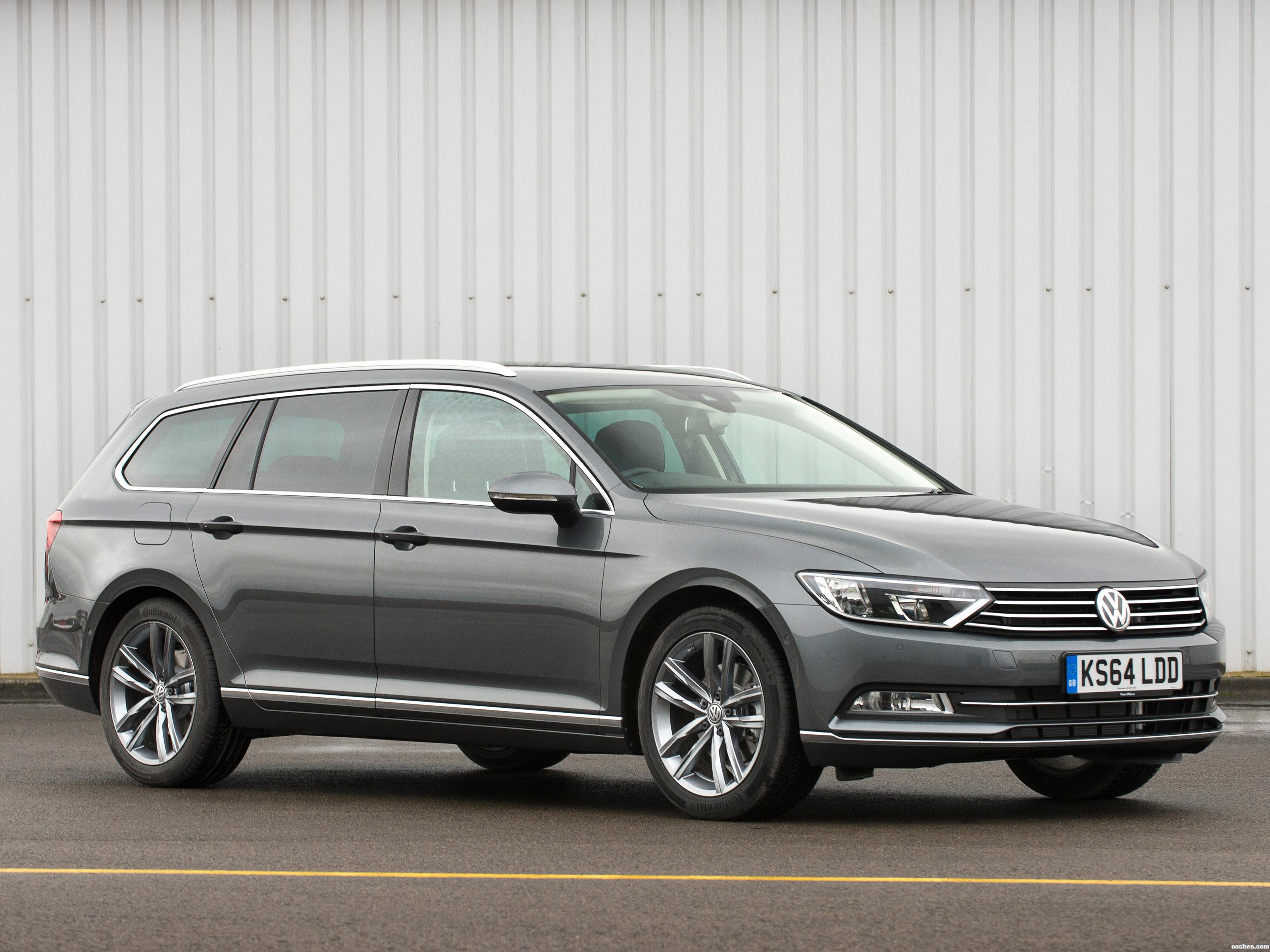 Foto 0 de Volkswagen Passat Estate GT UK 2015