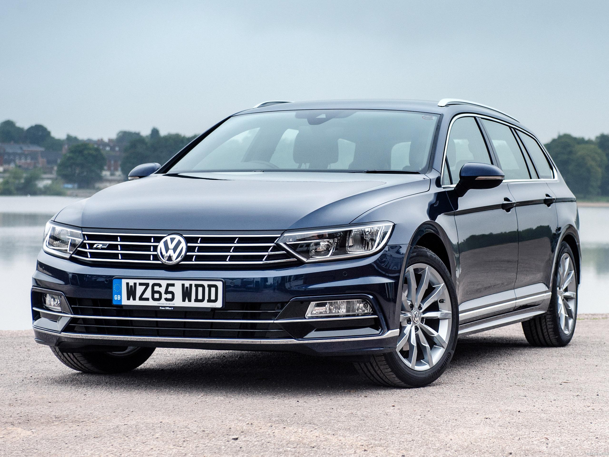 Foto 0 de Volkswagen Passat Estate R Line UK 2015