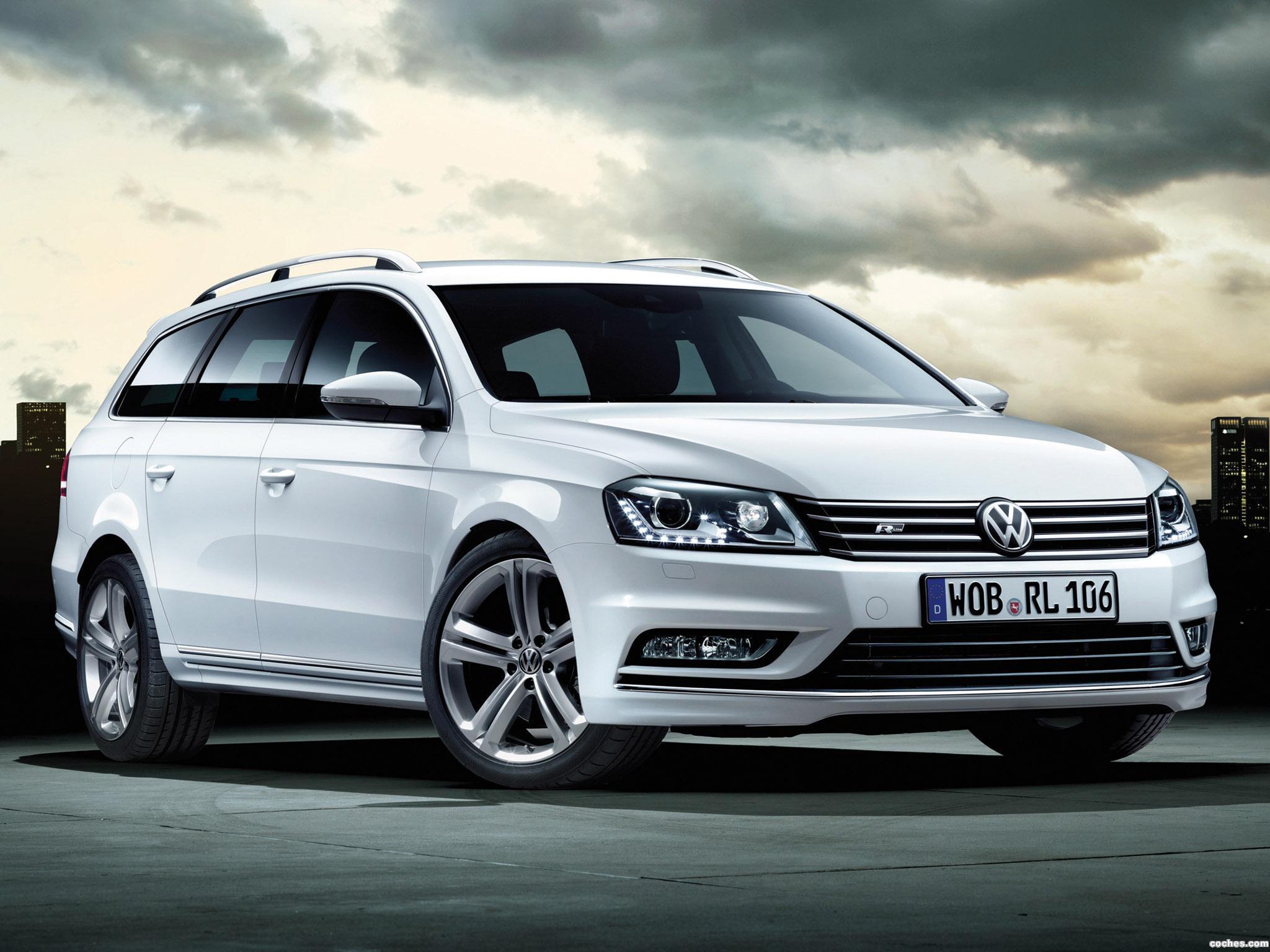 Foto 0 de Volkswagen Passat Variant  R-Line 2012