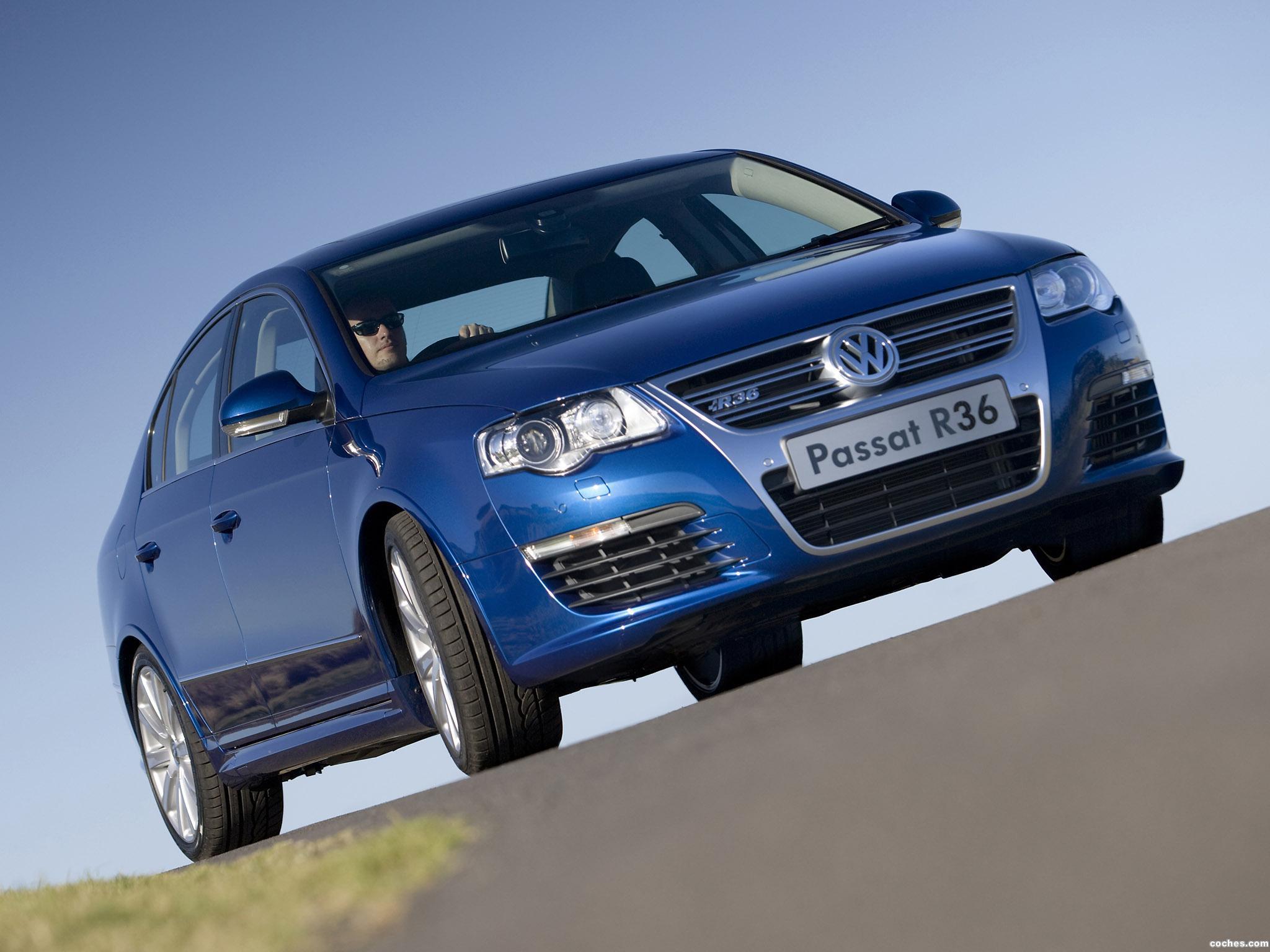 Foto 0 de Volkswagen Passat R36 Sedan Australia 2008