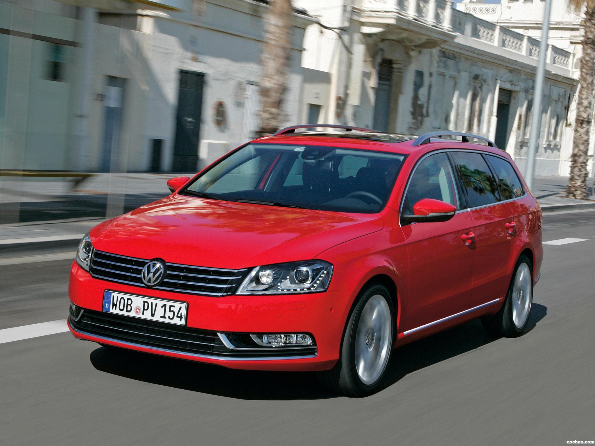 Foto 0 de Volkswagen Passat Variant BlueMotion 2010