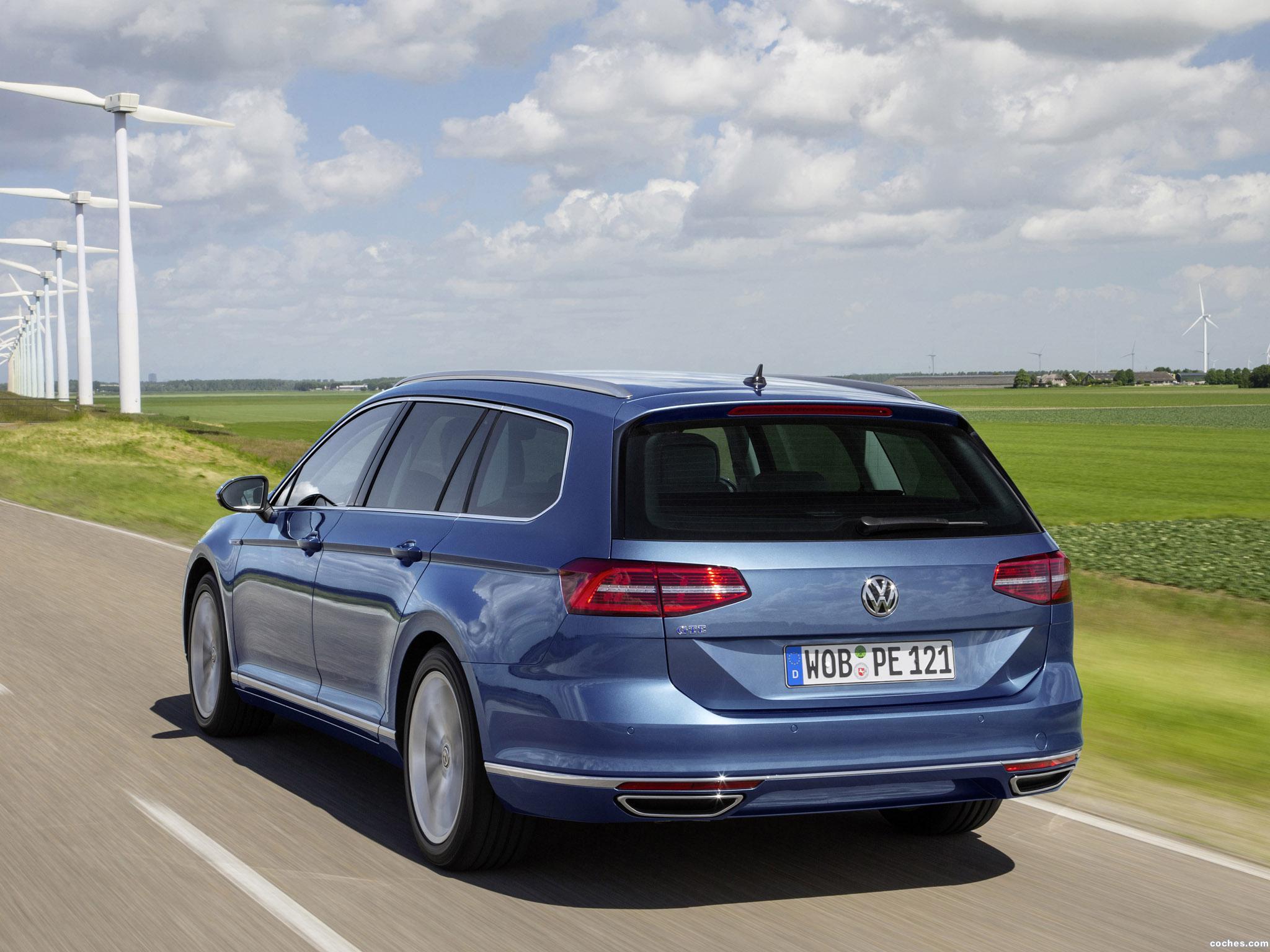 Foto 16 de Volkswagen Passat Variant GTE 2015