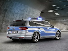 Ver foto 2 de Volkswagen Passat Variant GTE Plug-in Hybrid Police Car 2015