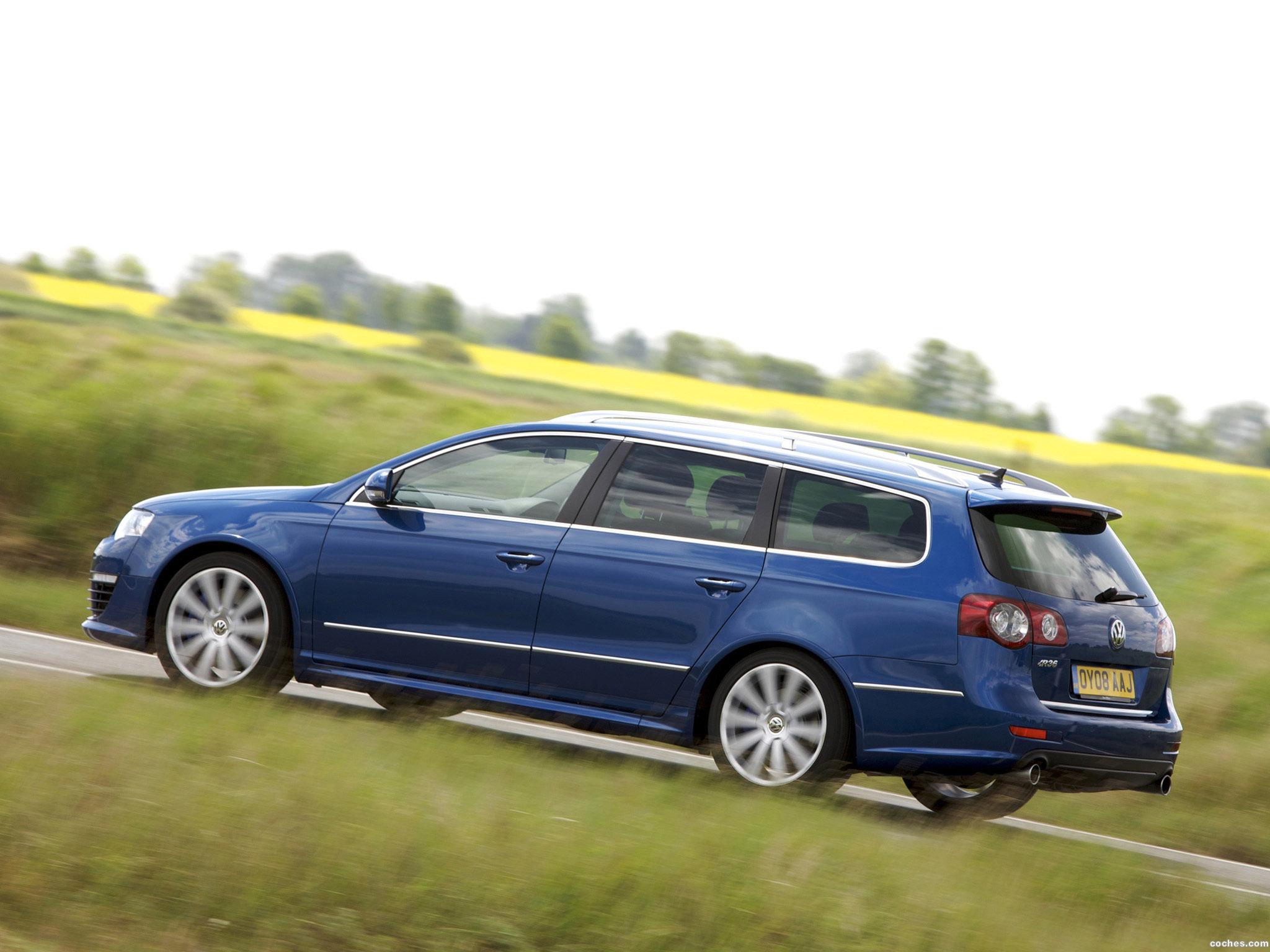 Foto 5 de Volkswagen Passat Variant R36 B6 2007