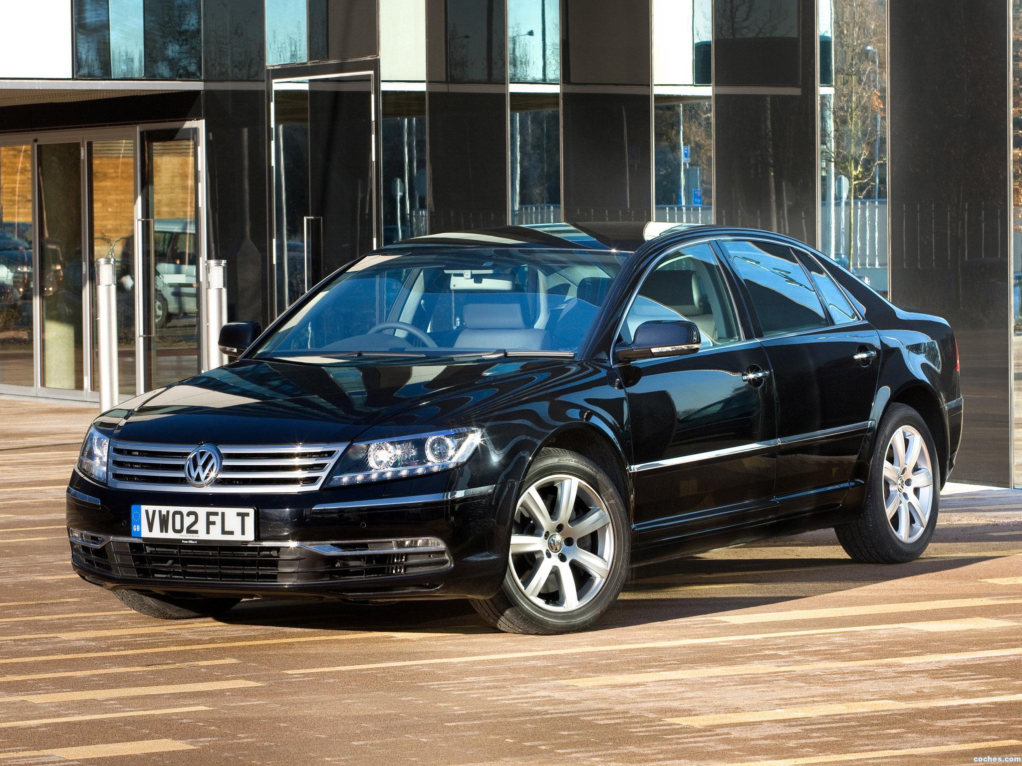 Foto 0 de Volkswagen Phaeton V6 TDi UK 2010
