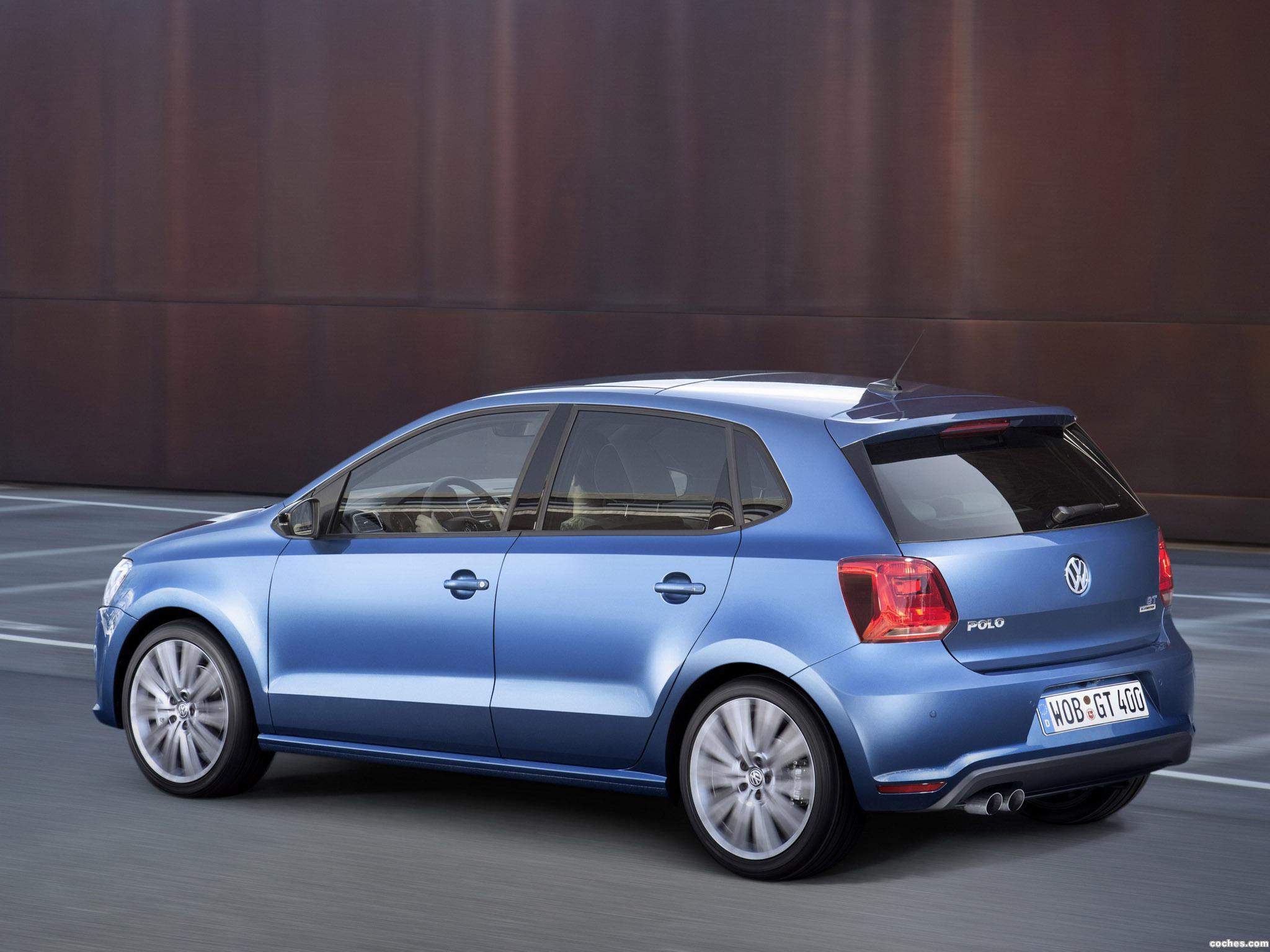 Foto 1 de Volkswagen Polo BlueGT 5 puertas 2014
