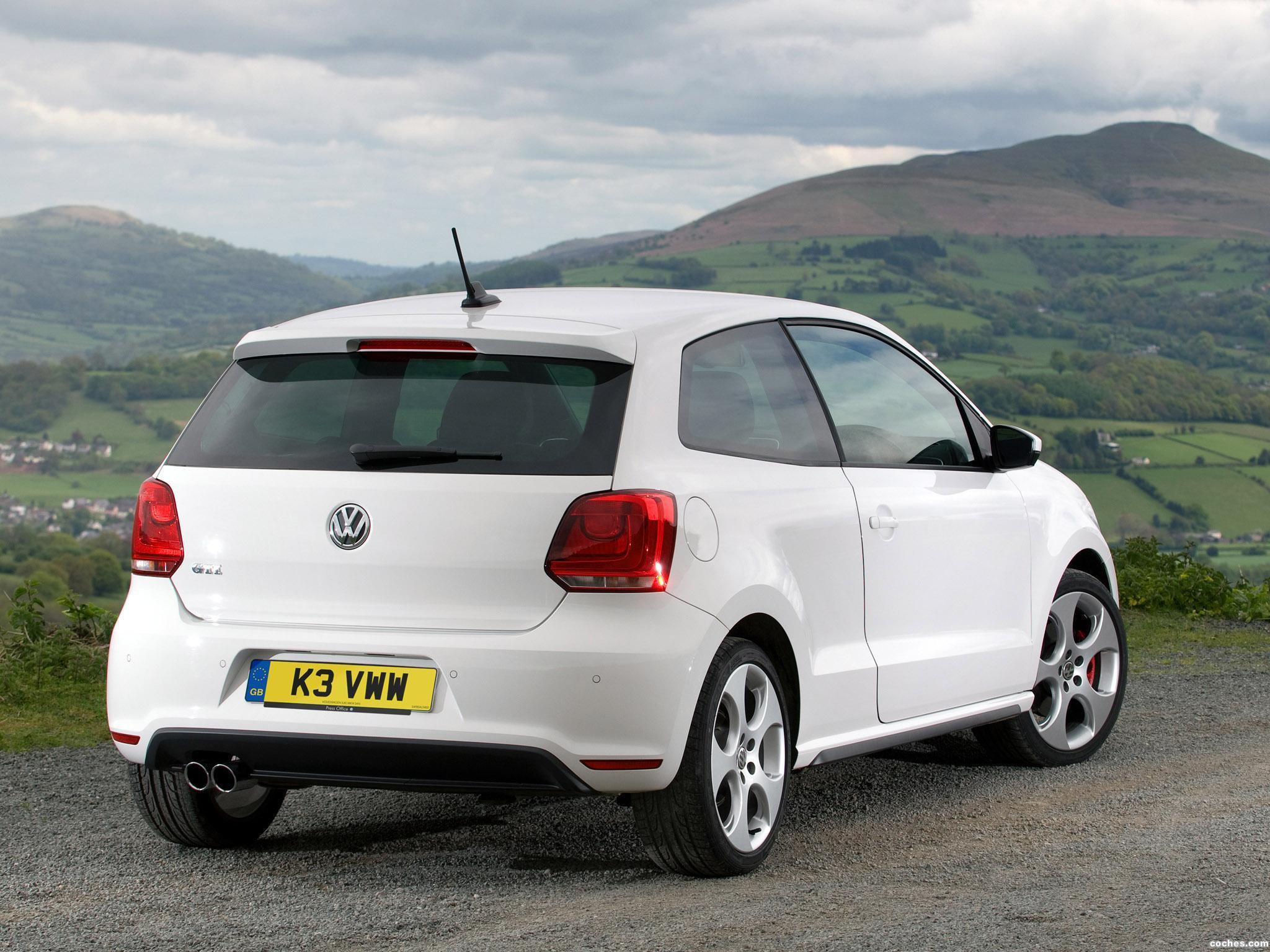 Foto 3 de Volkswagen Polo 3 puertas GTI UK 2010