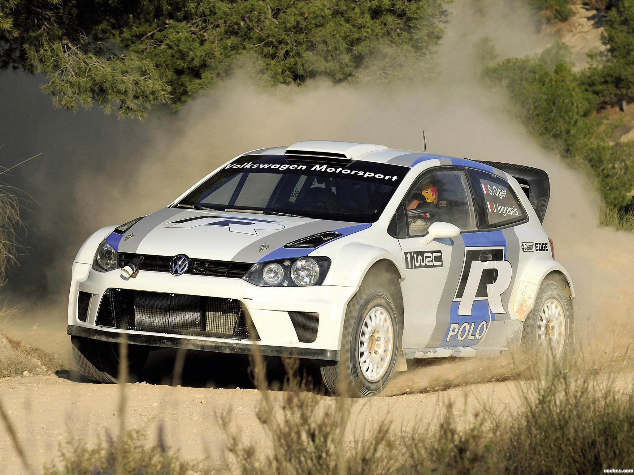Foto 14 de Volkswagen Polo R WRC Prototype 2011