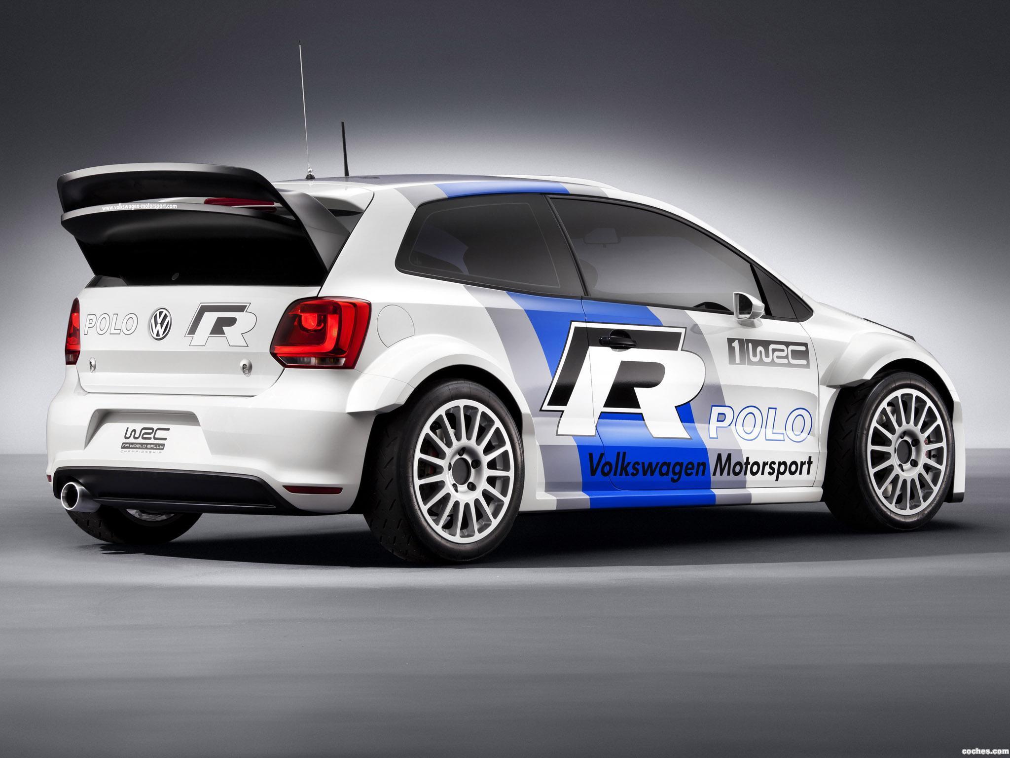 Foto 1 de Volkswagen Polo R WRC Prototype 2011