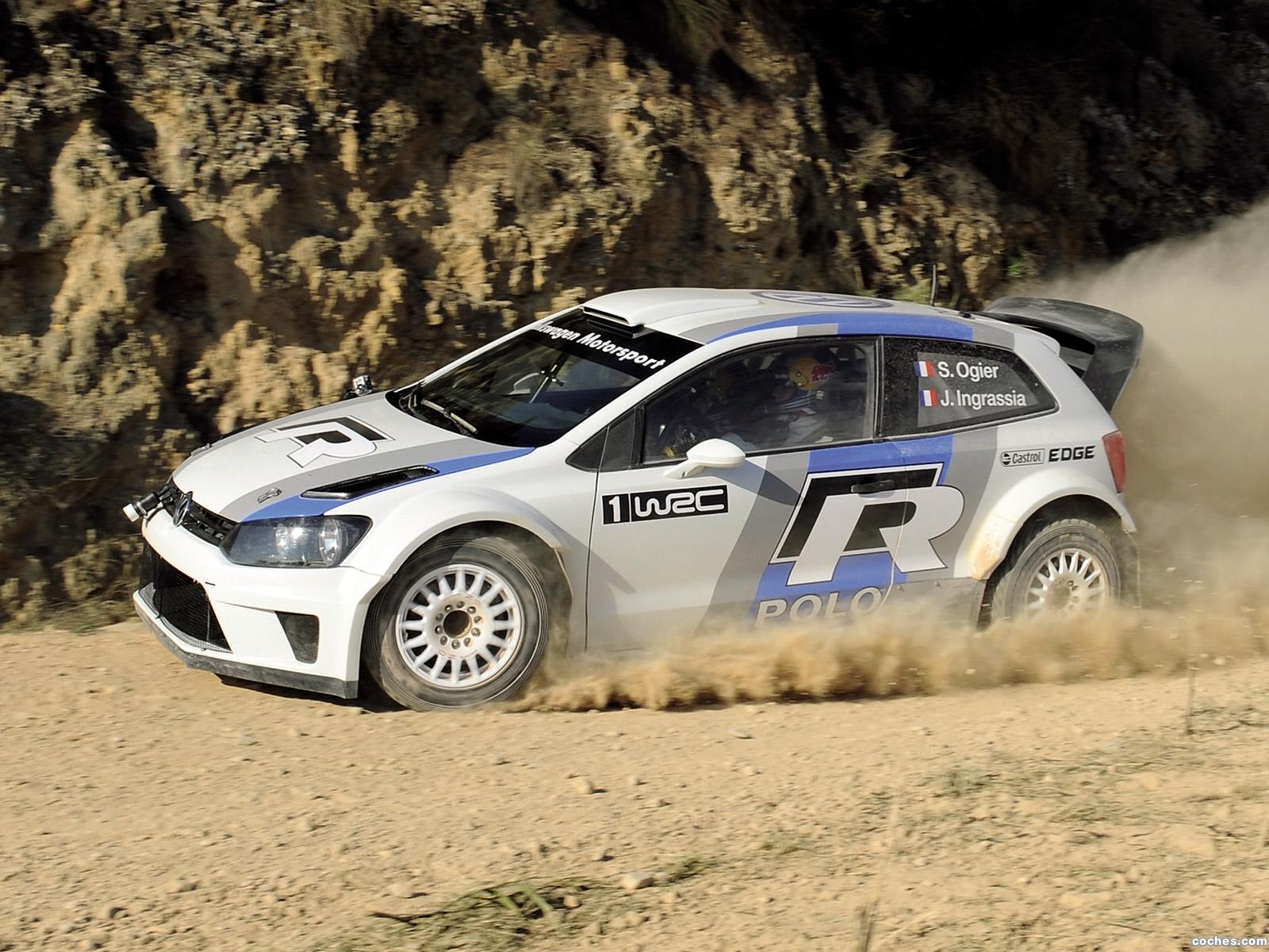 Foto 13 de Volkswagen Polo R WRC Prototype 2011