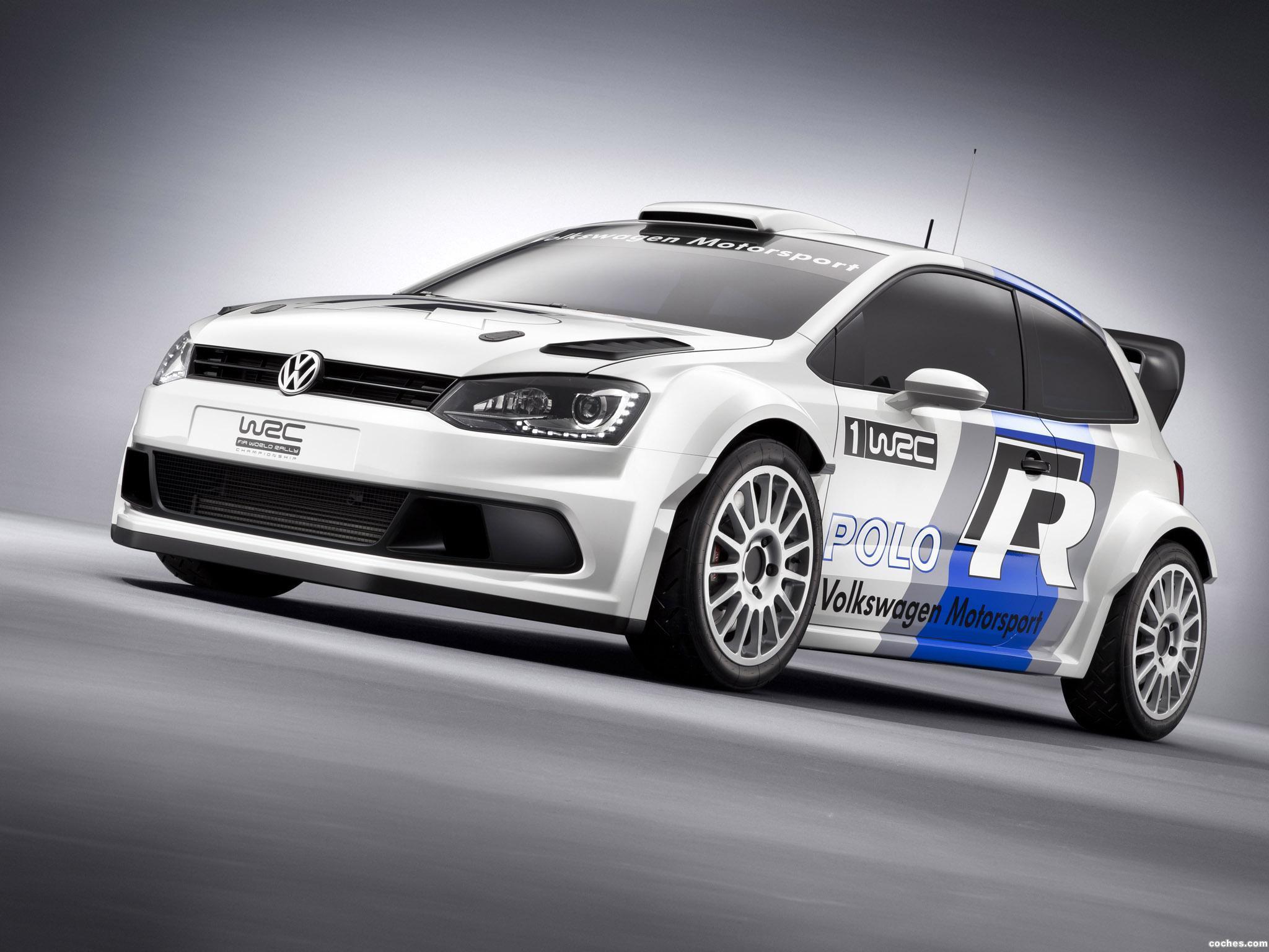 Foto 4 de Volkswagen Polo R WRC Prototype 2011